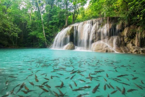 น้ำตกเอราวัณ-ที่พักกาญจนบุรีไทรโยค-itravel