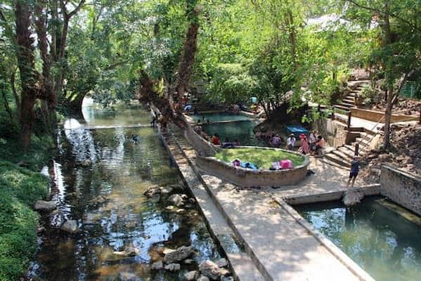 น้ำพุร้อนหินดาด-ที่พักแพกาญจนบุรี-iTravel