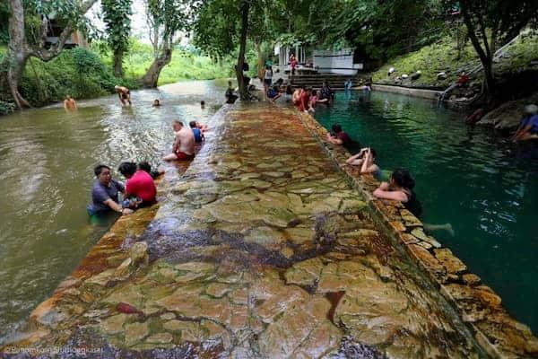 น้ำพุร้อนหินดาด-บ้านพักกาญจนบุรี-itravel