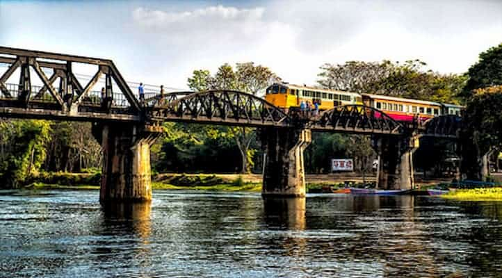 สะพานข้าวแม่น้ำแคว-โรงแรมกาญจนบุรี- itravel