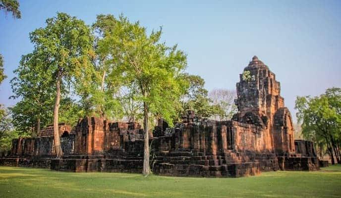 อุทยานประวัติศาสตร์เมืองสิงห์-รีสอร์ทกาญจนบุรี- itravel