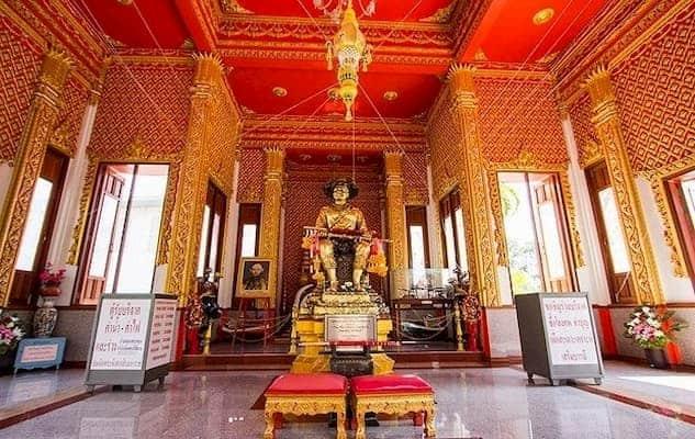 ศาลสมเด็จพระเจ้าตากสินมหาราช-โรงแรมจันทบุรี-itravel