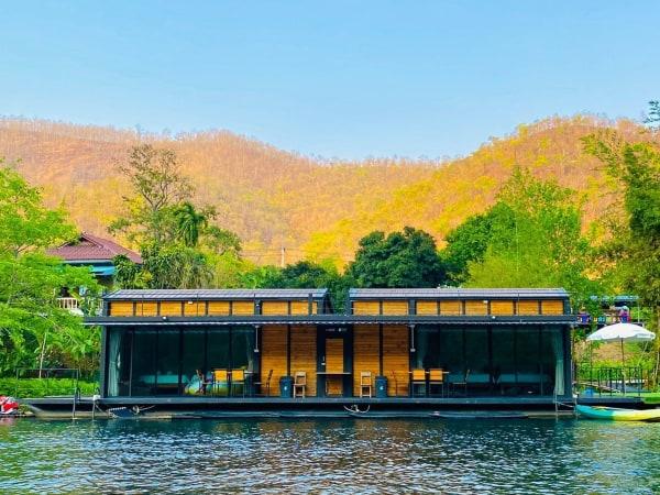 บ้านครูปอง แพริมน้ำ-แพกาญจนบุรี-itravel