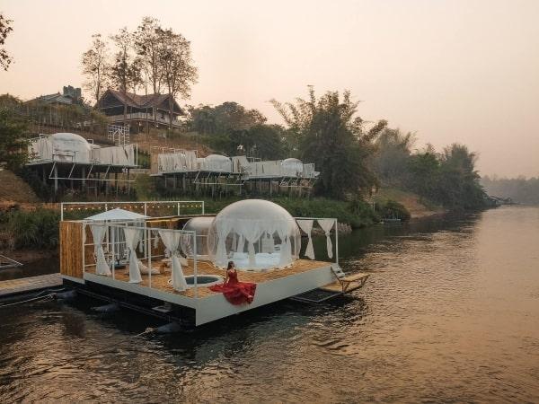 บ้านภูฟ้า รีสอร์ท-โรงแรมกาญจนบุรี-itravel