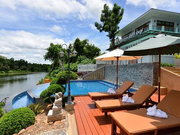 โรงแรมพรินเซสริเวอร์แคว-ที่พักกาญจนบุรีริมน้ำ-itravel