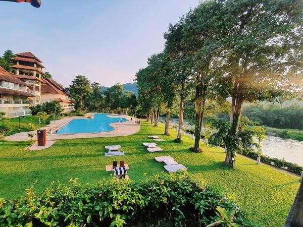 โรงแรม เอกไพลิน ริเวอร์ แคว-ที่พักกาญจนบุรีริมน้ำ-itravel